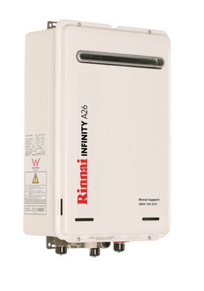 INSTALLED - Rinnai INFINITY® A26 - LPG or Natural Gas