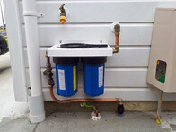 INSTALLED - Twin Whole House Water Filter (20 & 10 micron)
