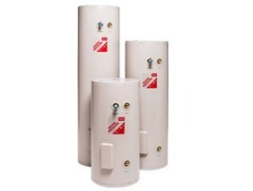 INSTALLED - 135L or 180L Enamel Mains Pressure Electric Hot Water Cylinders